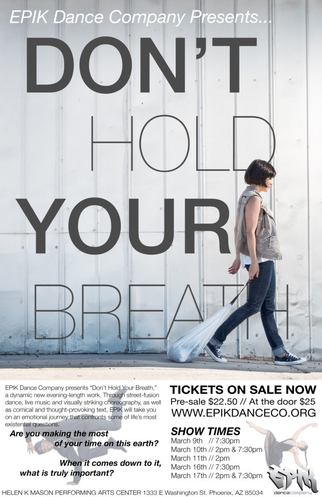 EPIK Dance Company presents Don't Hold Your Breath